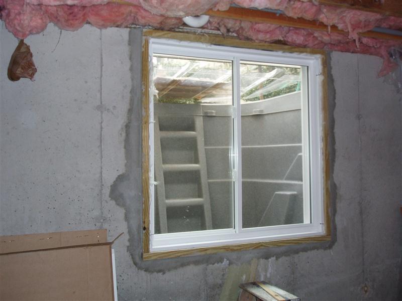 egress window glider & Egress Window | Stonecraft | insulation | gutters | shutters ... pezcame.com