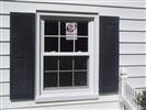 Simonton Double Hung with 6 over 6 grids