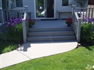 trex deck stairs and rail