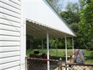 side panel view of 28 foot awning