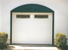 Garage door with Phypon arch