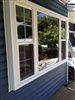 double hung picture window